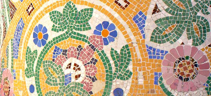 Inspiration - Barcelona Palau De La Musica Catalana mosaic