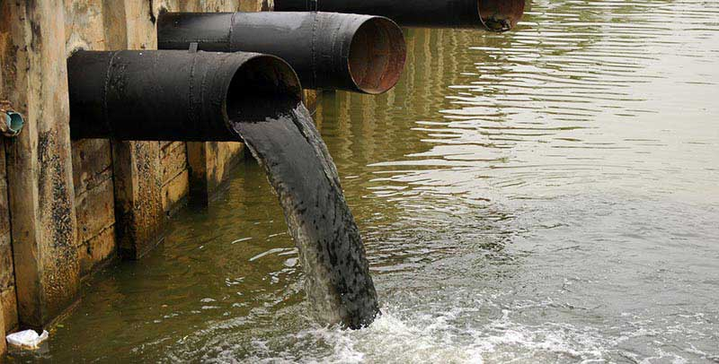 Chemical water pollution