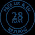 Free UK & EU Returns